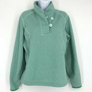 The North Face Button Long Sleeve Fleece Pullover